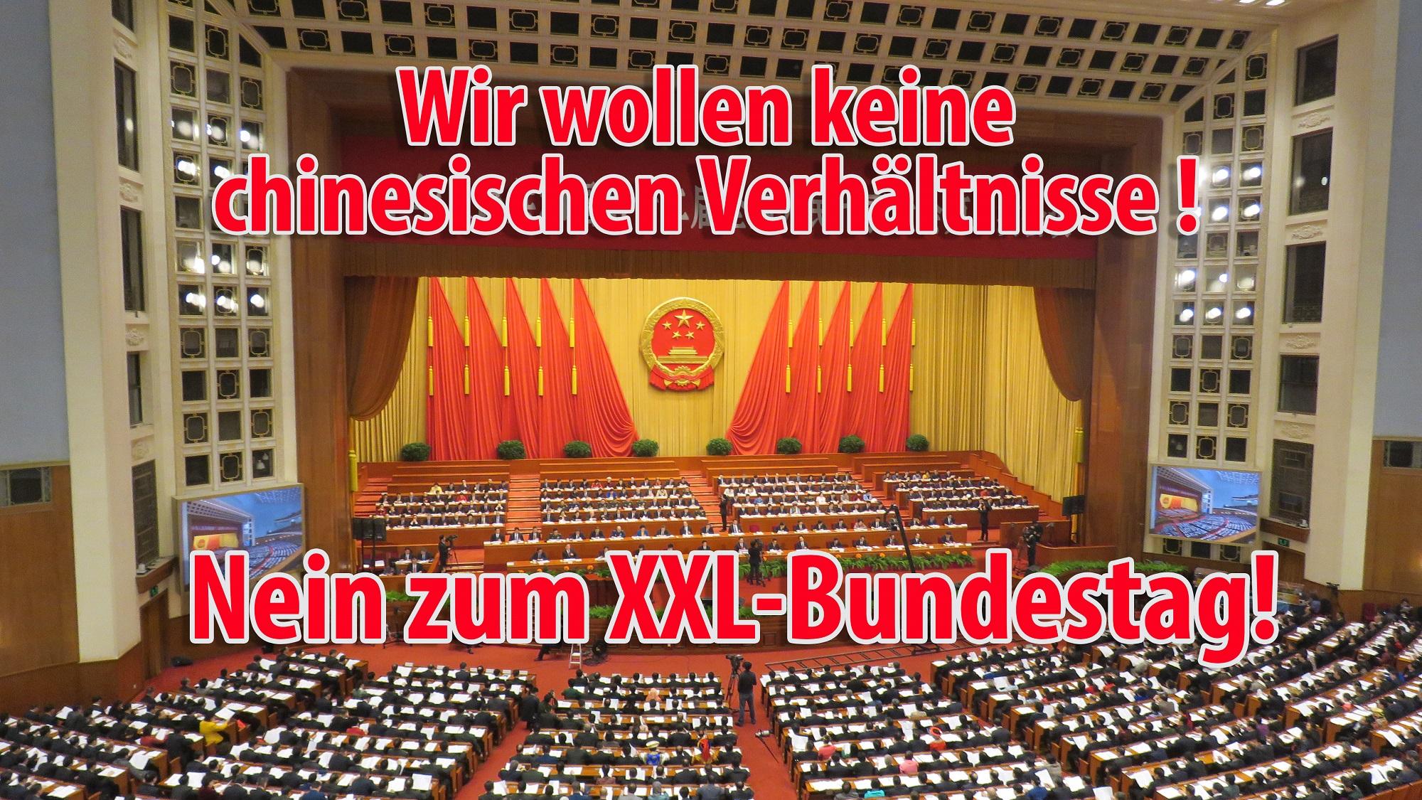 XXL Bundestag